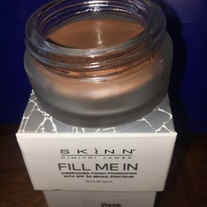 Other - Skinn Cosmetics Fill Me in Foundation